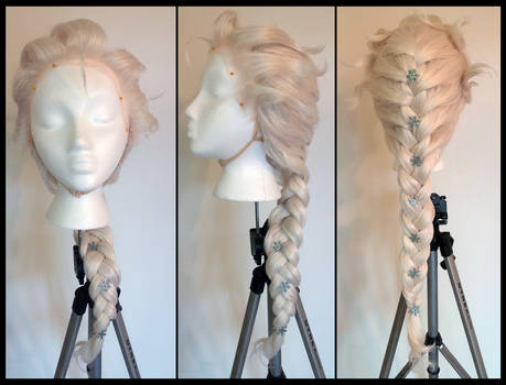 Commission: Frozen Elsa Wig