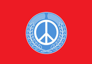 World Federal Peace Keepers Flag