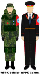 World federal Peace Keepers Uniforms