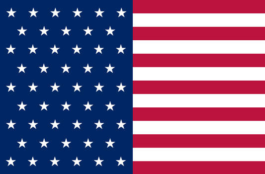 My design for the Stars and Stripes