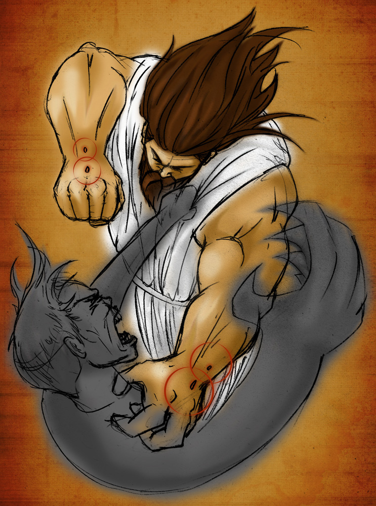 Christ vs. satan by gavacho13