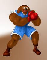 Sesame Street Fighter: Baldog by gavacho13