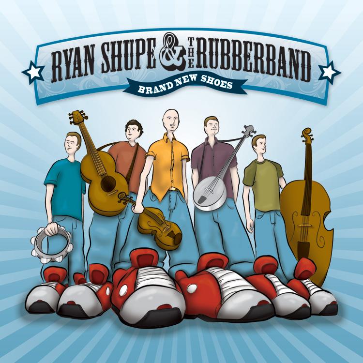 Album Design - Ryan Shupe by gavacho13