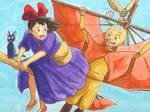 Kiki and Aang