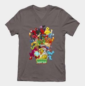 TeePublic.com Sesame Street Fighter Shirts