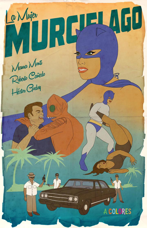 La Mujer Murcielago (1968) by gavacho13