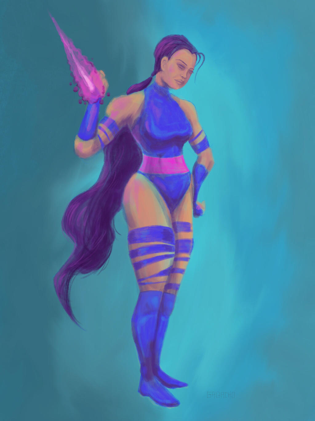 Psylocke by gavacho13
