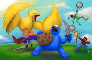 Cookie Monster Hunter!