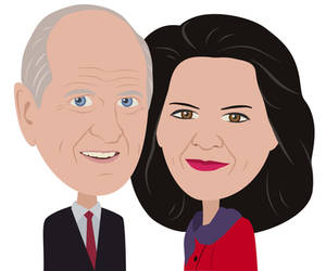 President and Sister Nelson Illustration