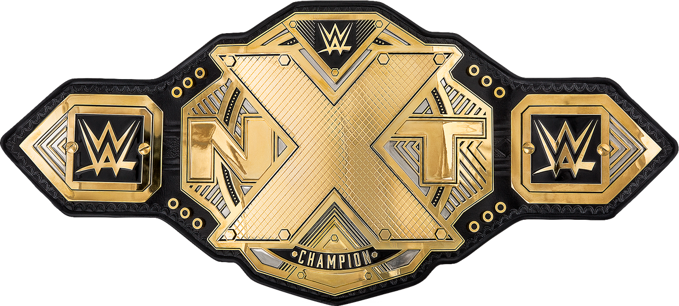 NXT Championship Belt (2017) PNG By DarkVoidPictures ...