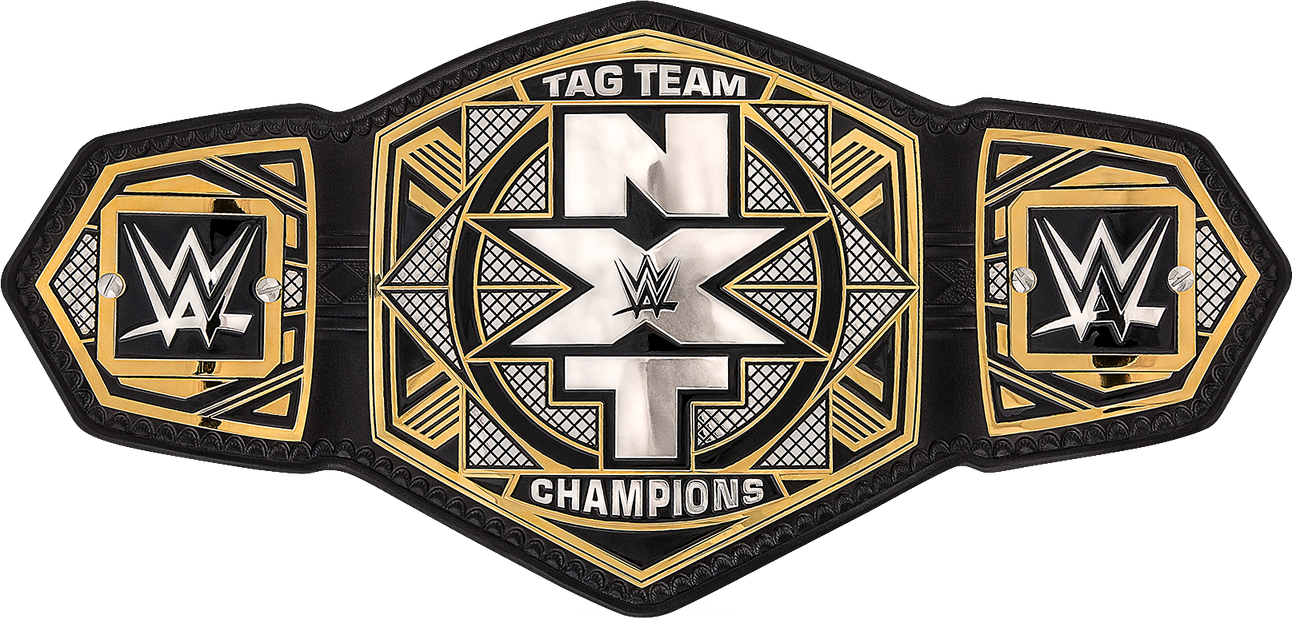 Exceptional NXT Tag Team Championship Belt (2017) PNG By DarkVoidPictures ...