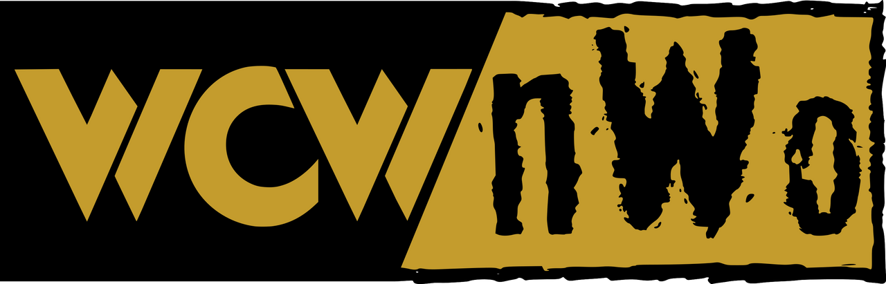 WCW n W o (Black And Brown) Logo by DarkVoidPictures on