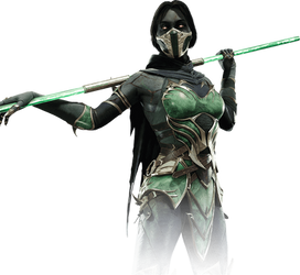 Jade (MK11) PNG by DarkVoidPictures