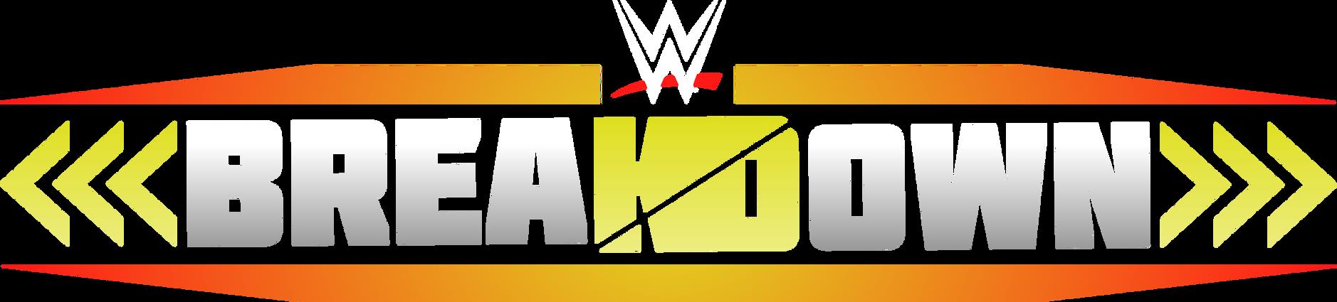 WWE Breakdown (Modernized 2019 Edit) Logo