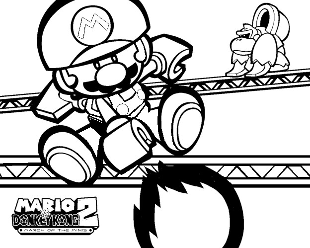 Fire Mario Throwing A Ball Coloring Pages Coloring Pages