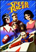 Speed Racer by DaveRapoza