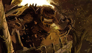 Battle of the Colossus by DaveRapoza