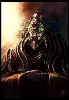 Alien deity