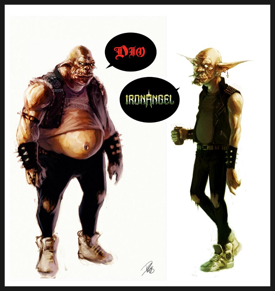 Thrash Orc Goblin