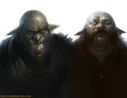 Goblin dudes by DaveRapoza