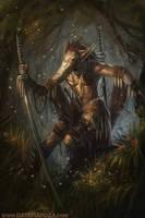 Avian Sword Master by DaveRapoza