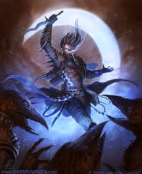 Cosmic Sorcerer by DaveRapoza