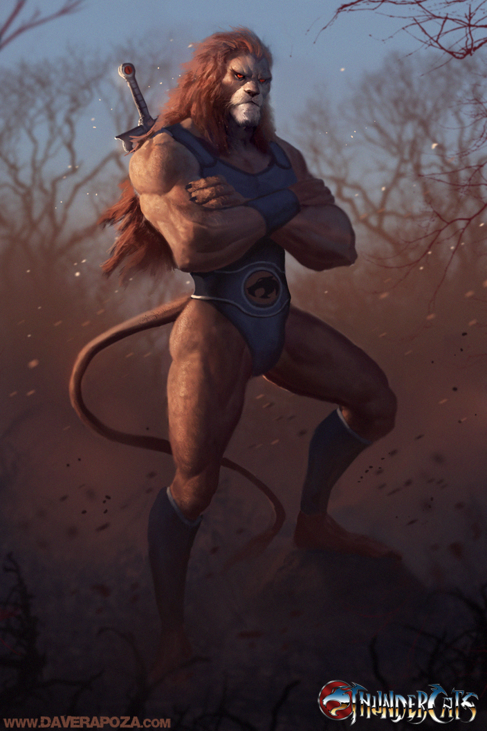 Lion O Concept by DavidRapozaArt