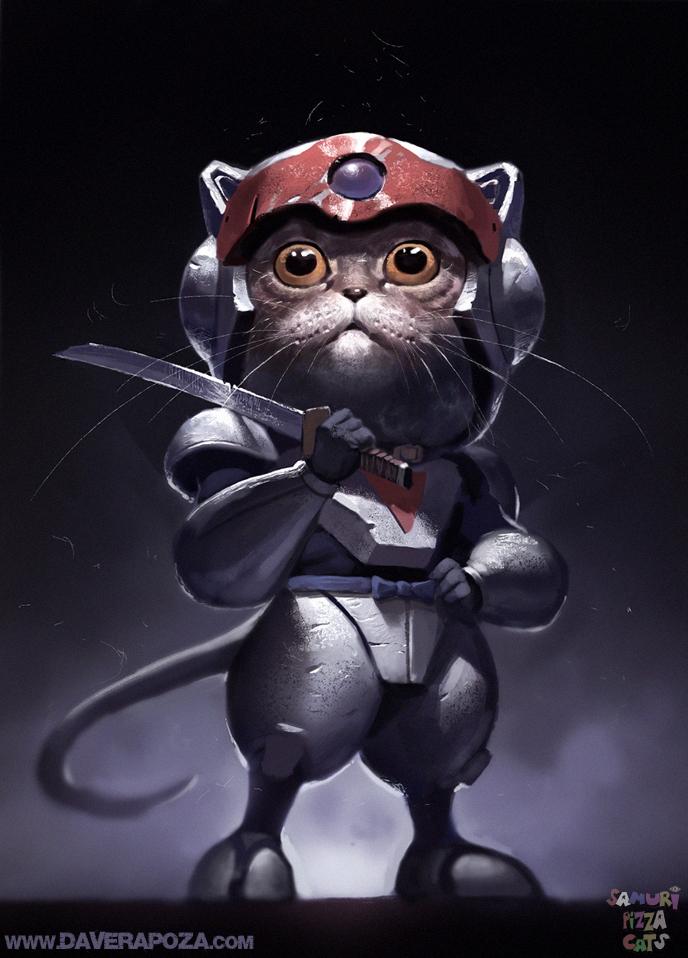 Samurai Pizza Cats by DaveRapoza