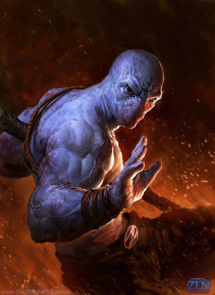 ZEN Intergalactic Ninja by DavidRapozaArt