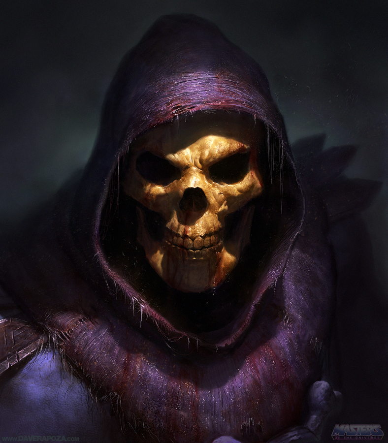 Skeletor by DavidRapozaArt