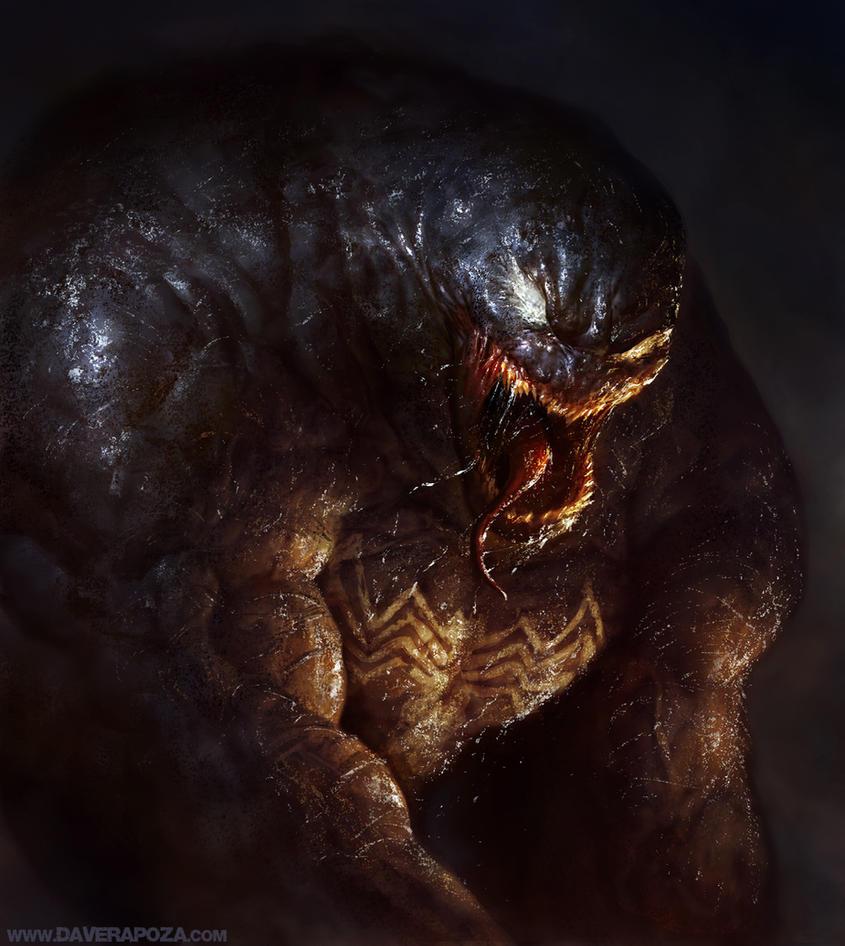 Venom by DavidRapozaArt