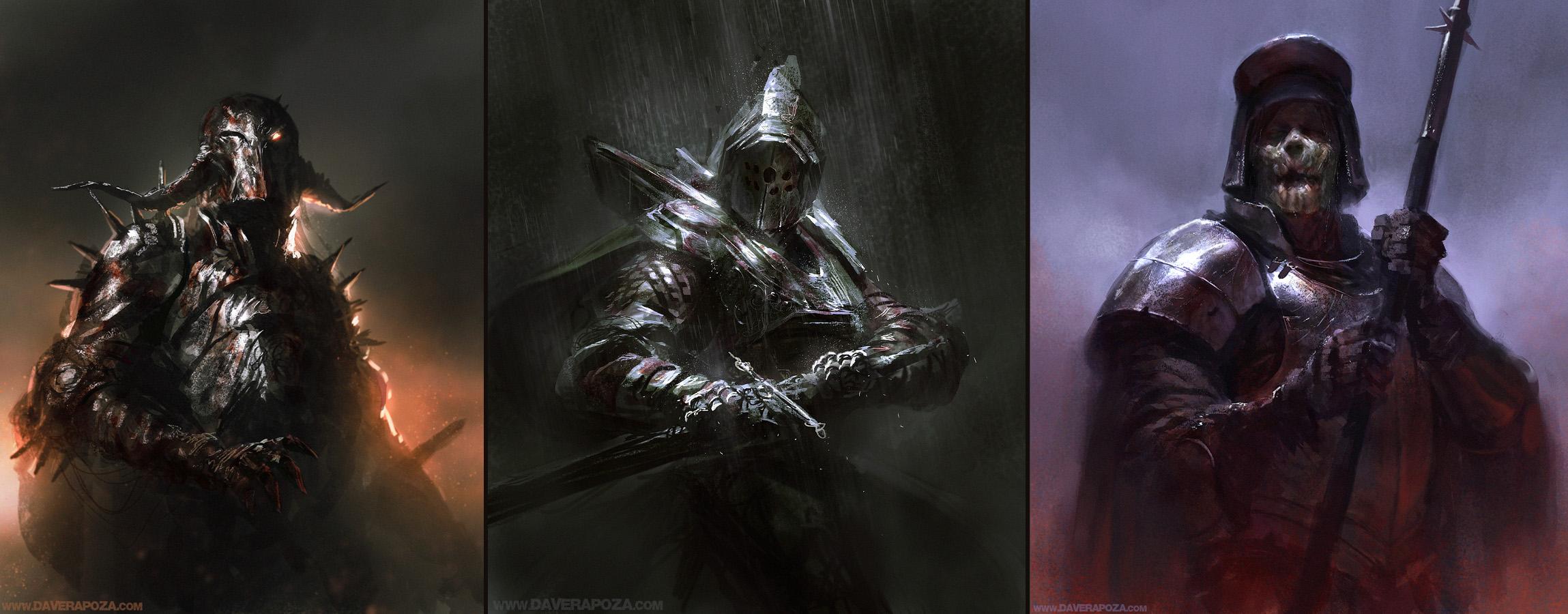 Dark Souls by DavidRapozaArt