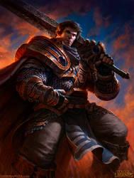 Garen League of Legends by DaveRapoza