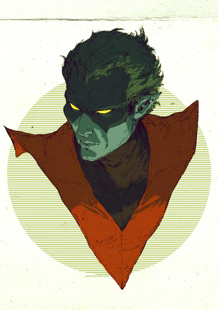 Nightcrawler by DavidRapozaArt