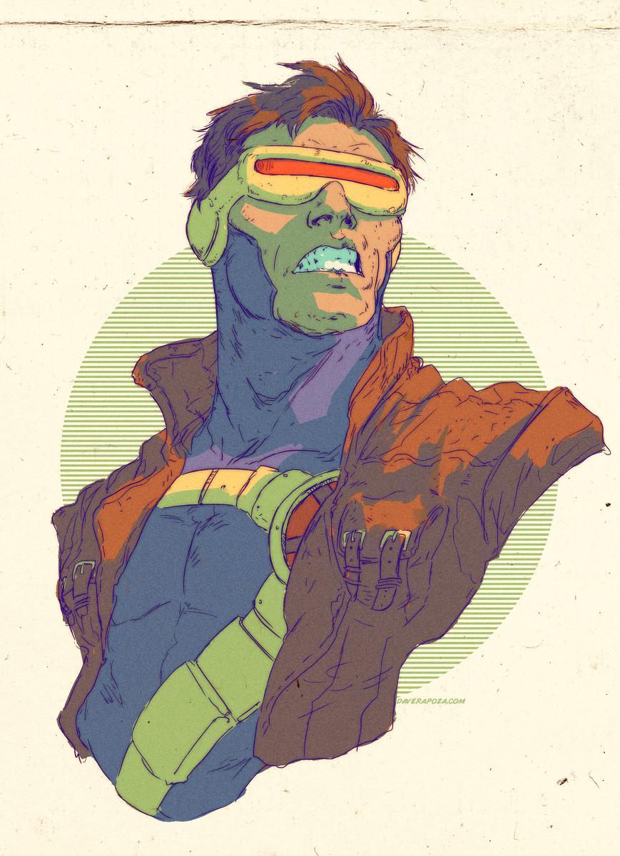 Cyclops by DavidRapozaArt