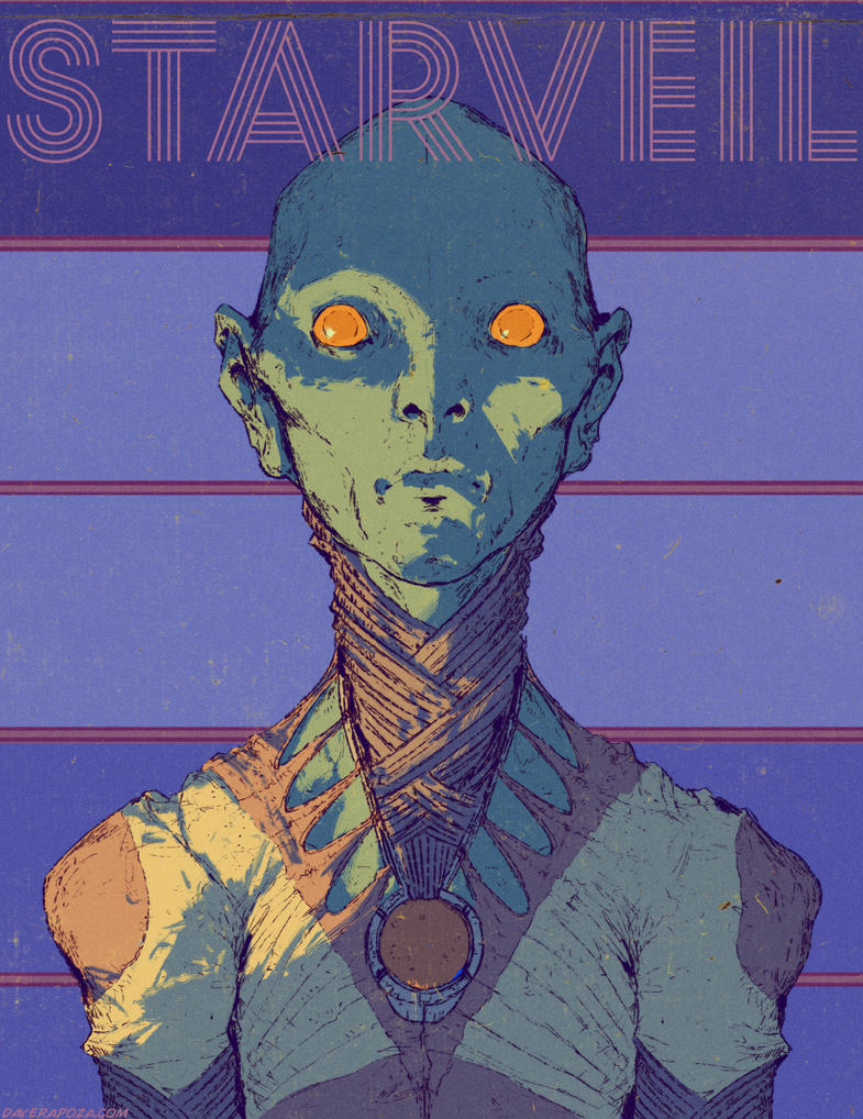 Cita - StarVeil by DavidRapozaArt