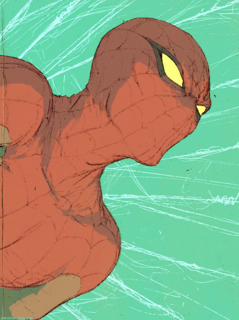 Spider-Man by DavidRapozaArt