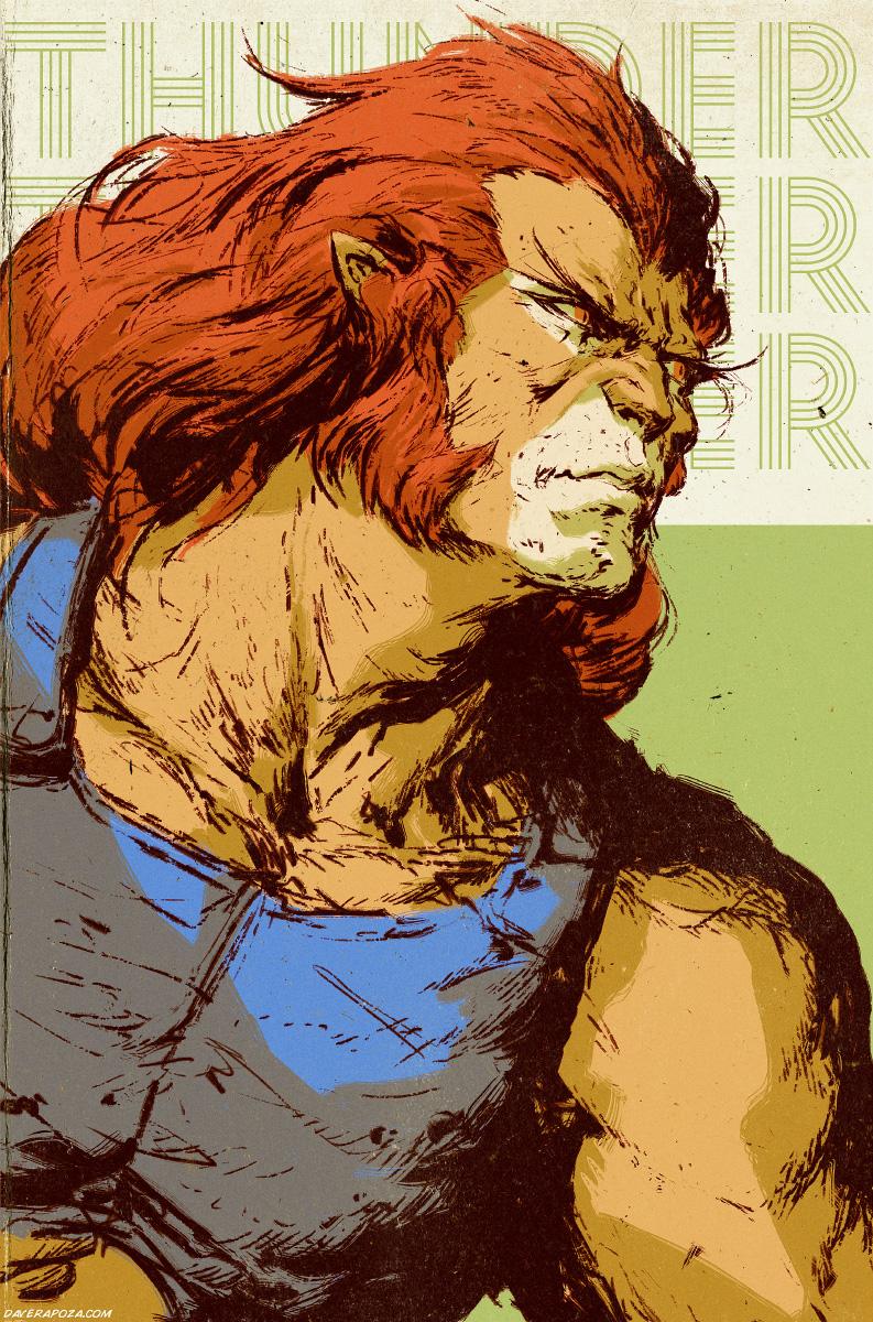 Lion-O by DavidRapozaArt