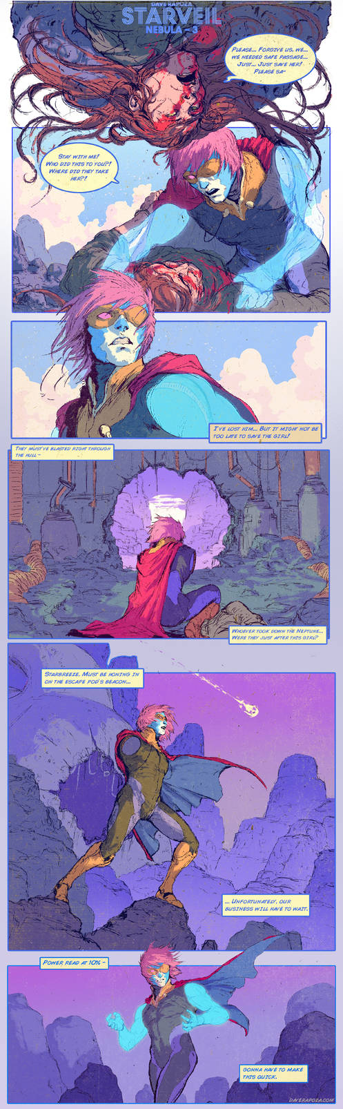 StarVeil - Nebula #3 by DaveRapoza