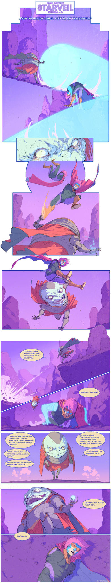 StarVeil - Nebula #6 (motion comic in description) by DavidRapozaArt