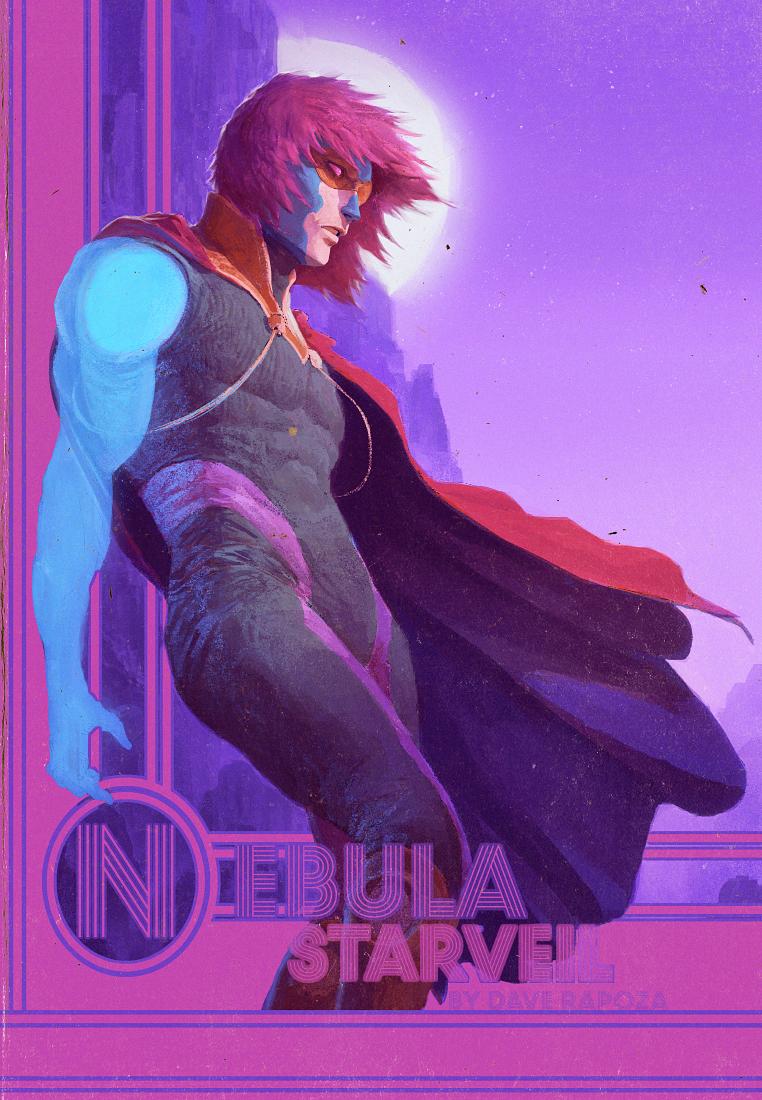 Nebula - StarVeil - Chapter cover by DavidRapozaArt