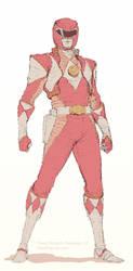 Red Ranger Redesign by DaveRapoza