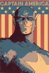 Captain America Cover