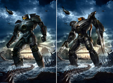 Pacific Rim - Movie Posters