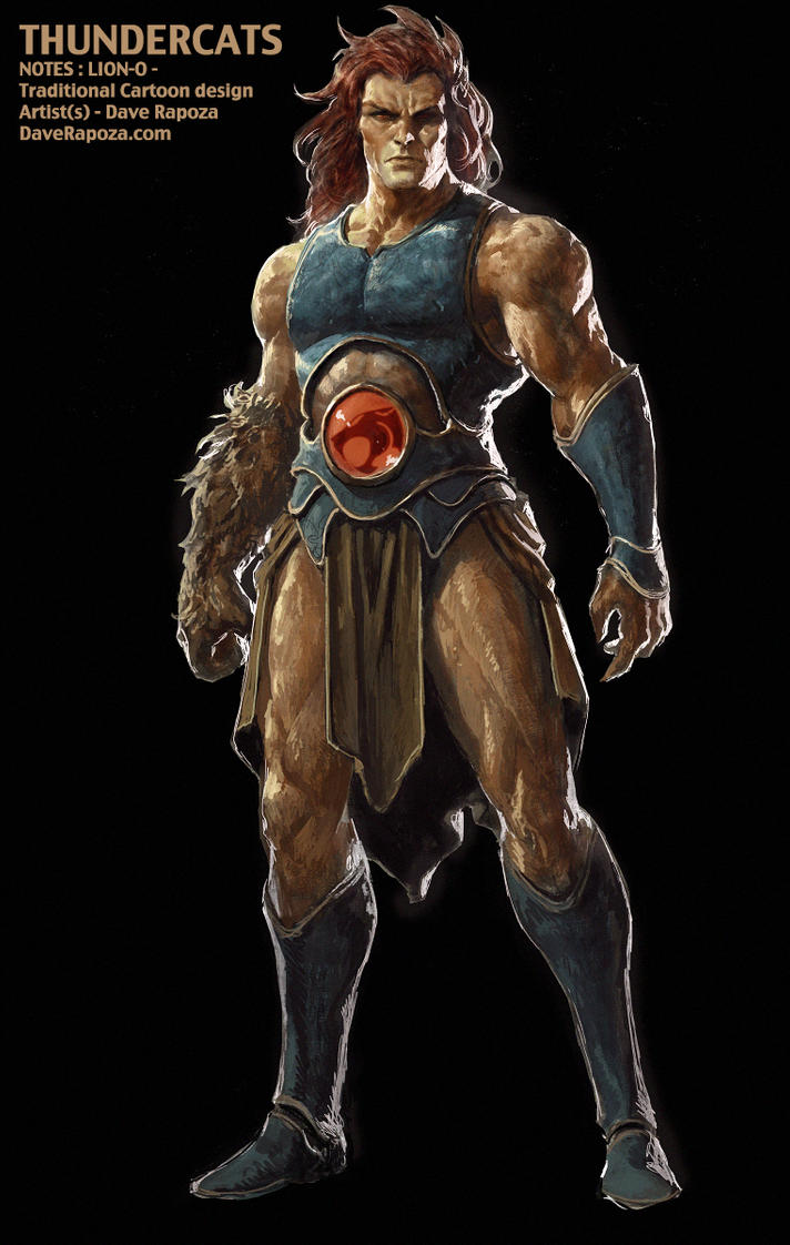 Lion-O - Thundercats pitch Concept by DavidRapozaArt