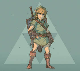 Link - A Link to the Past - Concept