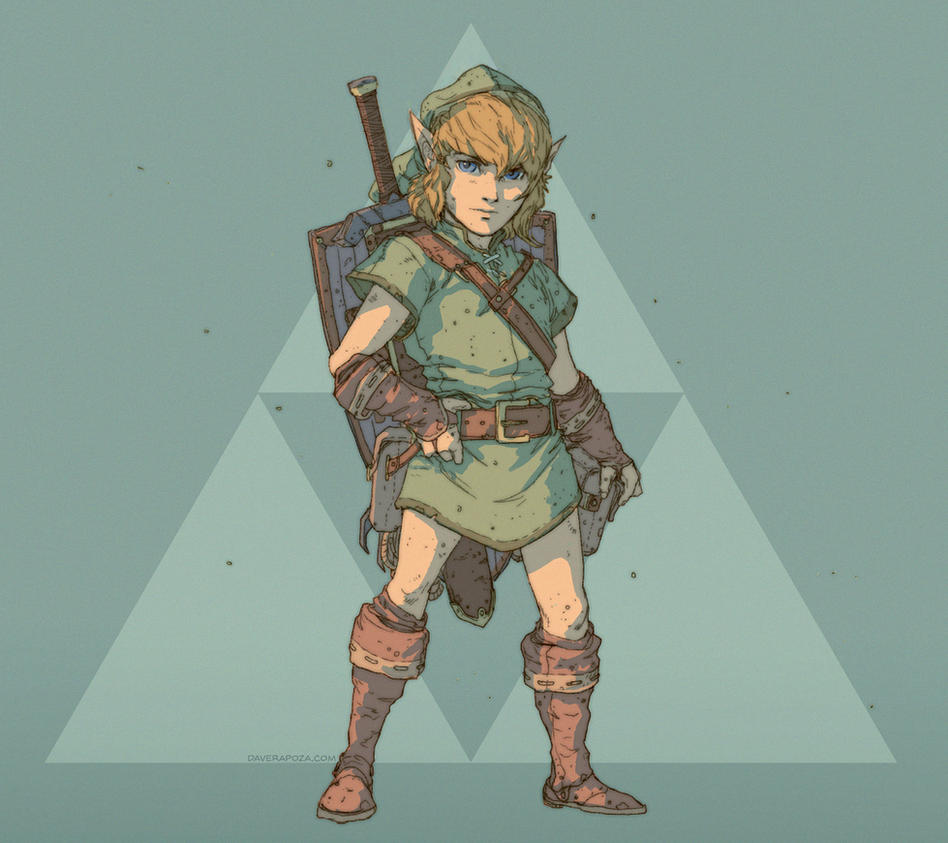 Link - A Link to the Past - Concept by DavidRapozaArt