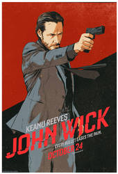 John Wick - Ad Design