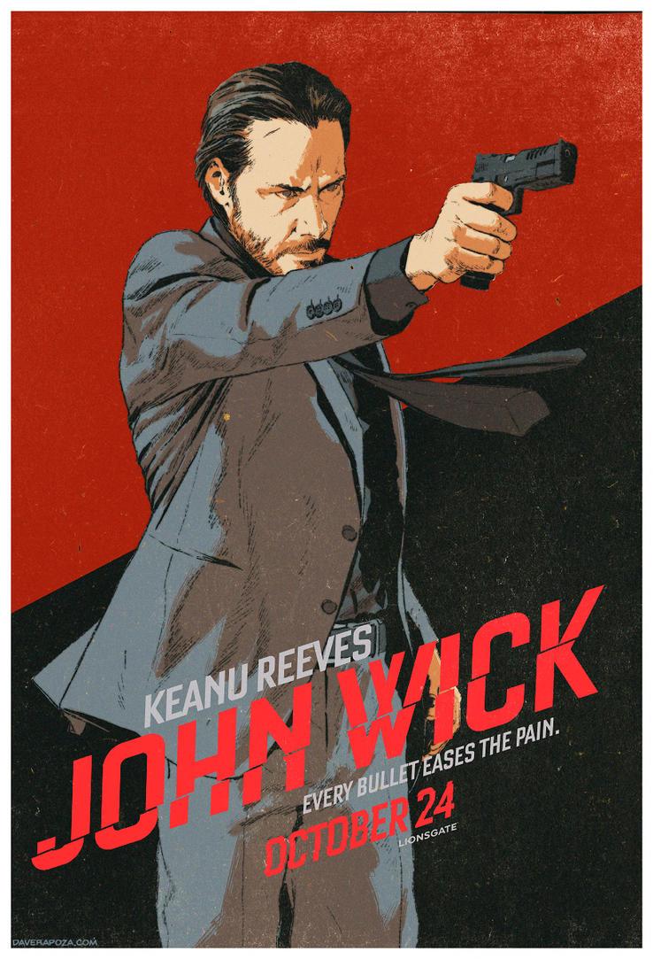 John Wick - Ad Design by DavidRapozaArt