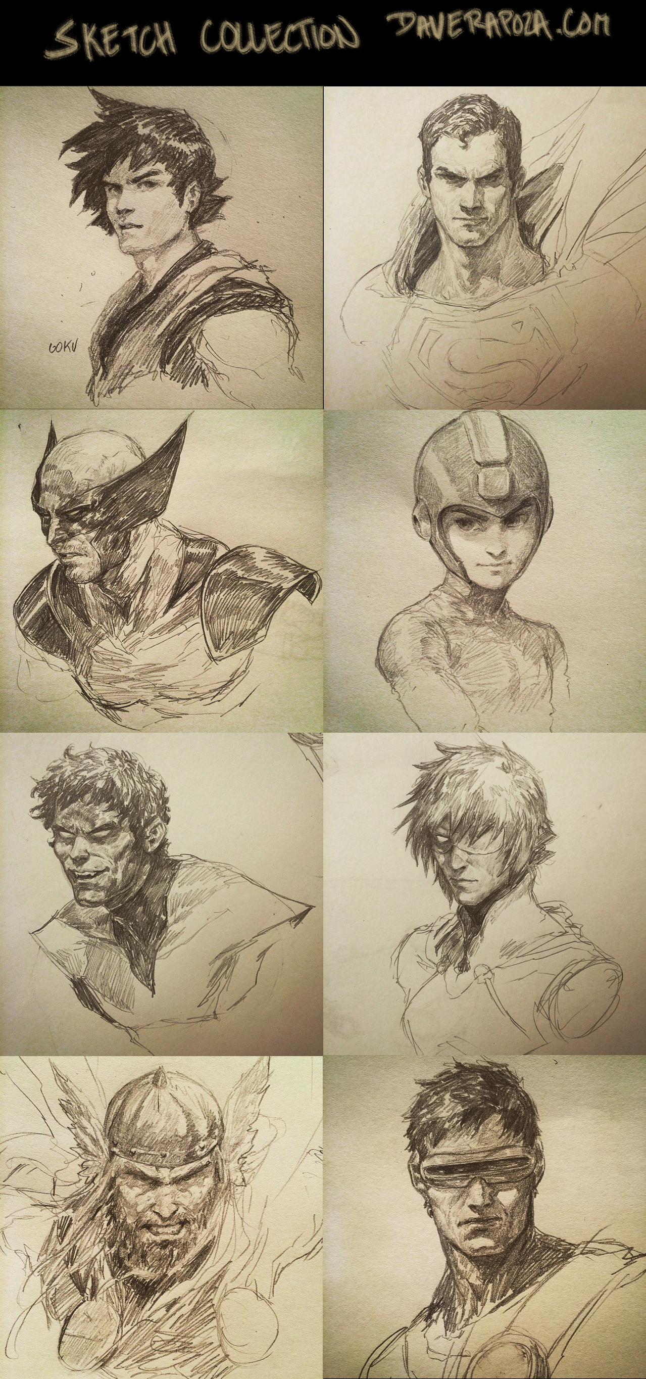 Sketch Collection!